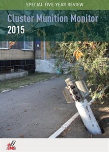 2015 Cluster Munition Monitor cover